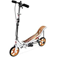 Space Scooter Patinete, color blanco (X580WHITE)