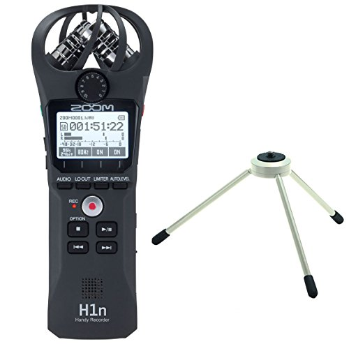 Zoom h1 N Handy Recorder + TPS di 3 treppiedi