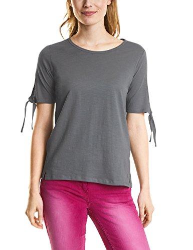 Cecil Damen 312113 T-Shirt, Graphit Light Grey, XX-Large -