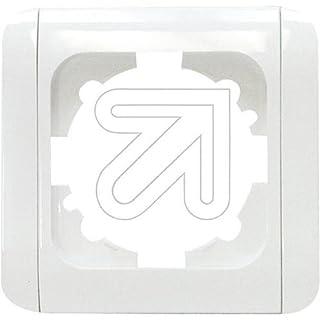 EGB Elegant Standard 1-fach Rahmen mit Clip-Paar reinw