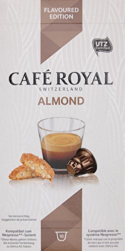 Cafe Royal Almond Flavoured Edition 10 Kapseln, 10er Pack (10 x 50 g) (Heißgetränke-system)