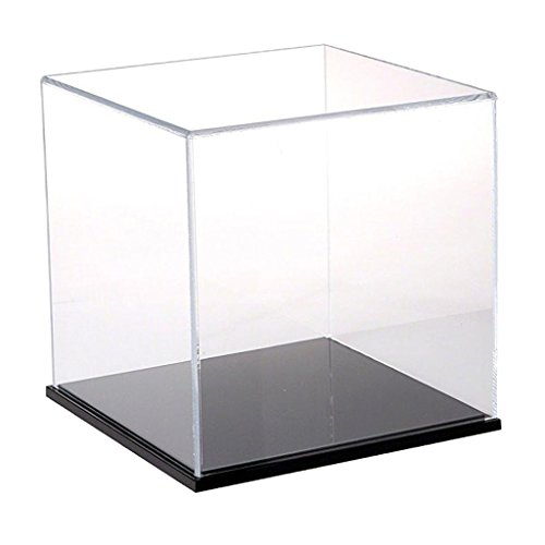 D DOLITY Display Case Clear Acrylic Display Case for Anime Models Action Figure Doll Figurines