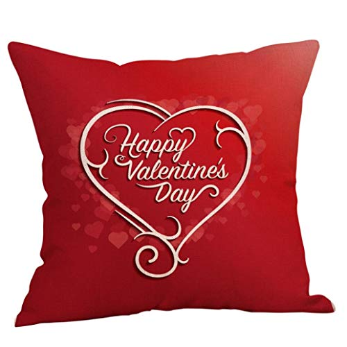 y Sweet Love Throw Pillow Cases Cafe Sofa Cushion Cover Car Home Decor Gift (O) 18x18Inch (45cm x 45cm, Twin Sides) ()