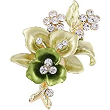 Topsaire Broche mujer ropa Boutonniere Charms Broches de Bisuteria  Alfileres vintage Broche flor mujer fantasia Brooch 9339a0ed29f9