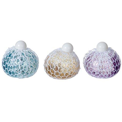 Funtime Gifts pl3800Tricks Squishy Grape Anti-Stress-Mesh Ball, mehrfarbig (Ball Mesh)