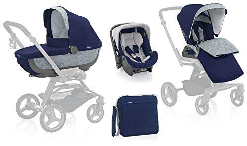 Inglesina AA60F6ART Trio per carrozzina compreso da passeggino, seggiolino e borsa