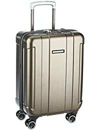 Eminent Orion ABS 58 cms Gold Brush Hardsided Carry On (6842 - GD)