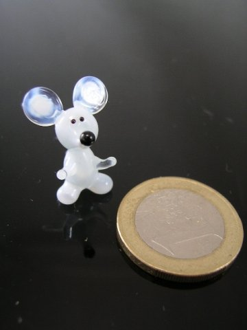 Maus mini 2-Glasfigur k-7 -