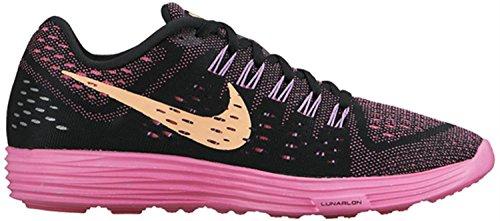 Nike Wmns Lunartempo Chaussures de sport de formation BLACK/SUNSET GLOW-PINK POW-FUCHSIA GLOW