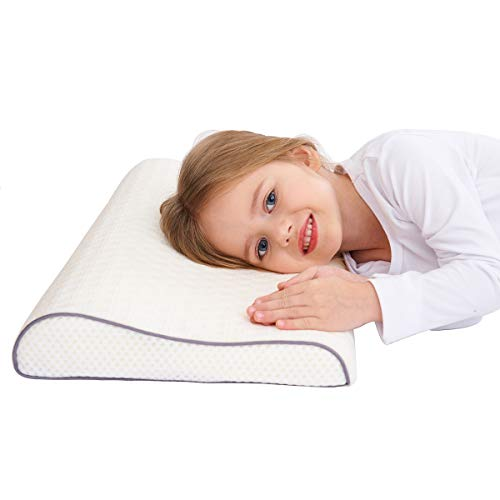 Gesundheit Kinder Kissen für Bett Schlafen Hypoallergenic Memory Schaum kinderkissen Neck-Protector für Kinder (3-10 Jahre) - Kinder-foam-bett