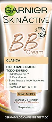 Garnier BB Cream Perfeccionador Prodigioso Pieles Normales Tono Medio – 50 ml