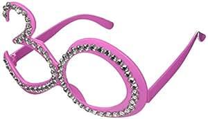 Party-Brille zum 30. Geburtstag,Pink