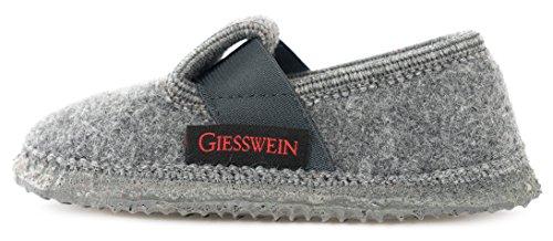 Giesswein Türnberg, Jungen Flache Hausschuhe, Grau (017/schiefer), 32 EU