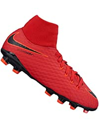 Nike Unisex Kids' Jr Hypervenom Phelon 3 DF FG Football Boots