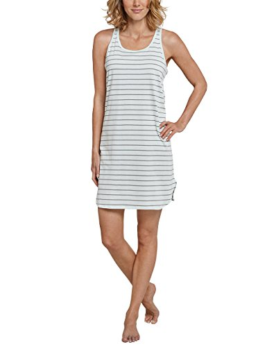 Passenden Doll Schlafanzug (Schiesser Damen Negligee Sleepshirt 0/0 Arm, 90cm, Grün (Mint 708), 42 (Herstellergröße 042))