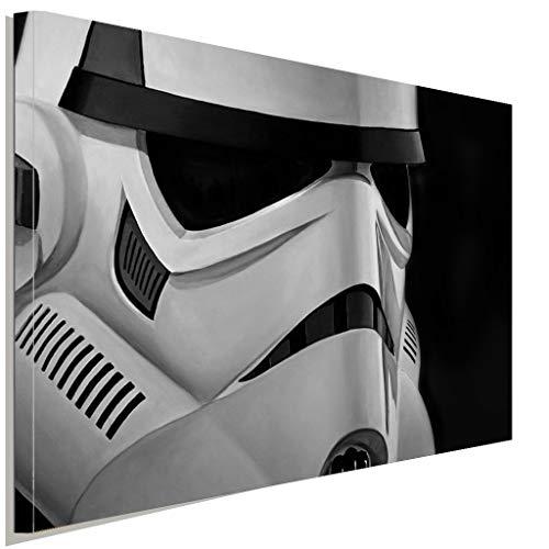 Stormtrooper Star Wars Leinwandbild LaraArt Studio Wanddeko Wandbild (150x100 (Stormtrooper Outfits)