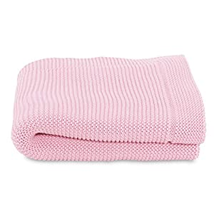 Chicco Knitted Blanket, 1% Cotton, Miss Pink