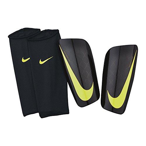 Nike Herren Schienbeinschoner Mercurial Lite, black/volt, L, SP0284-071