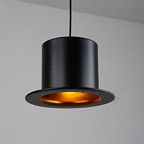 Uncle Sam LI-Modernes unbedeutendes Kronleuchter Restaurant Bar Hut britischen Hut kreative Mode Aluminium Ganglichter Lampen