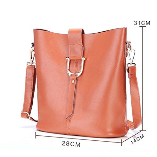 Borsa del messaggero di joker borsa a tracolla singola slant span semplicità borsa a secchiello borse donna-I E
