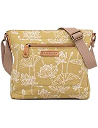 094c464c5b4 ... for Shoes   Bags   Brakeburn. Brakeburn Lotus Cross Body Bag - Yellow  White