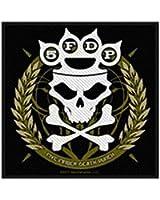 Five Finger Death Punch - Knuckles Down [Patch/Aufnäher, gewebt] [SP2604]