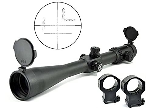 Visionking 10-40x56 Long Rang Hunting 35 Rifle scope Military With 21mm Mounting rings