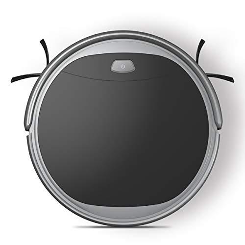 HL Roboter-Reiniger Smart Dämpfer Anti-Winding Automatik Nachfüller Selbstkontrollierender Nass-Tank für Harte Böden, dünne Decke für Haustierhaare (Dampfer Boden Zu Hart,)