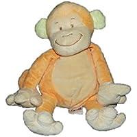5d285ca0f618 Bengy - Doudou bengy singe orange et beige - 3233