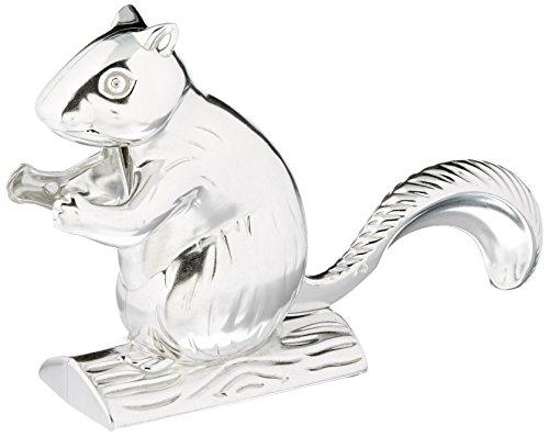 Norpro Eichhörnchen Nussknacker, silber