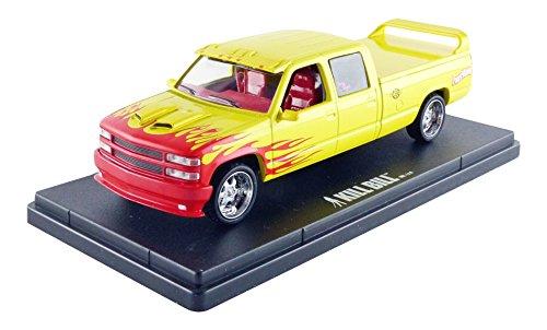 Greenlight collectibles- 86481?Chevrolet Silverado C 2500Crew Cab?1997?Gelb/Rot/Ros Preisvergleich