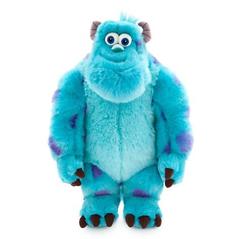 Large Plush Sulley Soft Toy Disney Monsters INC