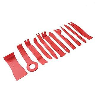 11 tlg Zierleisten Keil Türverkleidung Löse Ausbau Innenraum Verkleidung KFZ Werkzeug