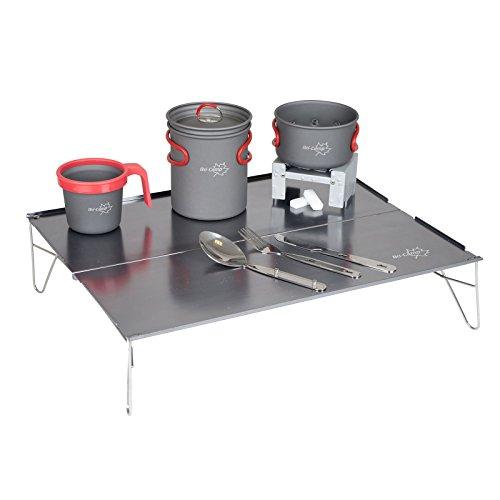Bo-Camp Ultralight Mini Tisch, silber, 46x 35x 10cm