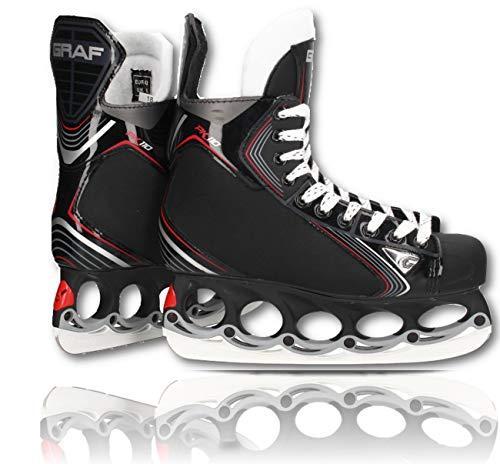 tblade Schlittschuhe GRAF Pk110 Eishockey und Freestyle t Blade Schlittschuhe Eislaufen Größe 40