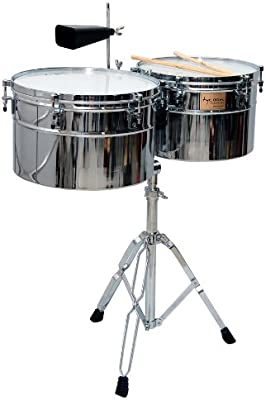 Tycoon Percussion TTI/L-1415 BC - Timbales (cromo)