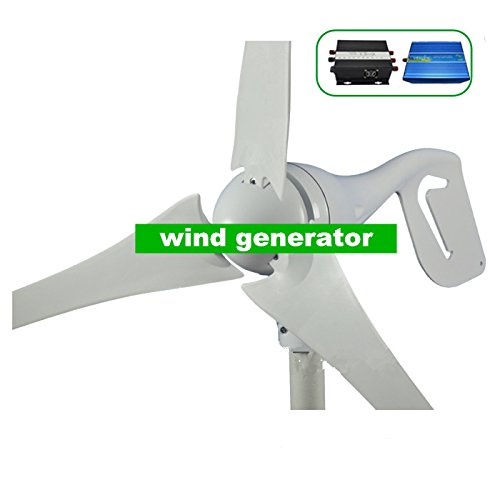 Gowe 400W WIND GENERATOR, Wind-, mit Wind Controller + Pflanzenbeleuchtung Off Grid reine Sinuswelle Wechselrichter Off-grid-generator
