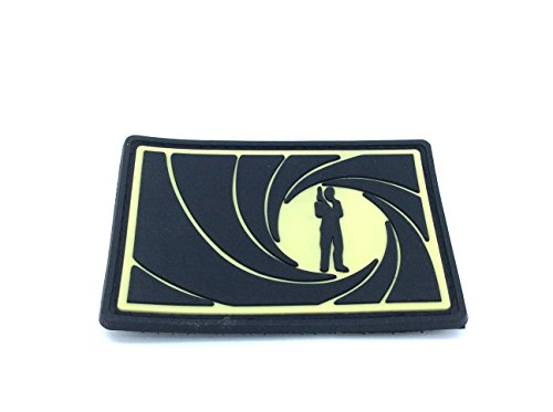 james-bond-007-cosplay-airsoft-velcro-pvc-parche