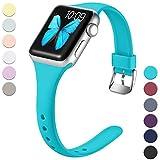 Wepro Bracelet pour Apple Watch 38mm 40mm, Bracelet de Remplacement en Silicone...