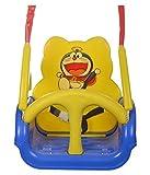 #2: WonderKart Panda Baby Swing - With Multiple Age Settings | 4 Stages - (Blue)