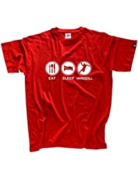 shirtzshop T-shirt Eat Sleep handball