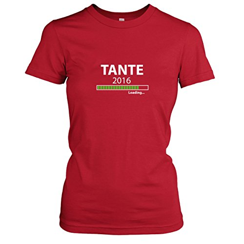 TEXLAB - Tante 2016 Loading - Damen T-Shirt Rot