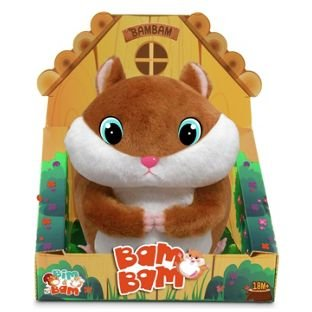 Bam Bam Just Loves to Bounce Club Petz Bam Bam Soft Toy Hamster