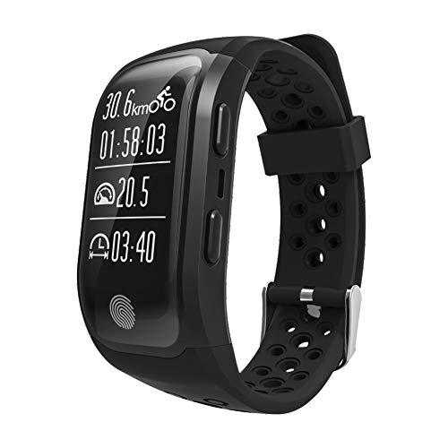 TIAN Fitness-Uhr Wasserdichtes Smart Armband Für Männer, Frauen, Kinder Mit Schlaf Monitor, Smart Watch Pedometer Kalorienzähler,Black