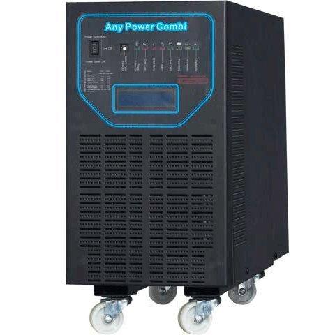 ZODORE PFV Serie 6000W Reiner Sinus Wechselrichter, Spannungswandler 48V /230V, mit integriertem MPPT Solar-Laderegler 40A,Ladegeraet, Solar-Wechselrichter, off -Grid