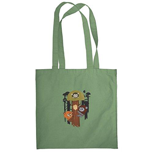 Texlab–Ewok Community–sacchetto di stoffa Oliva