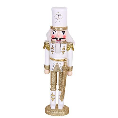 Nussknacker Puppe 30 CM Holz Weihnachten Nussknacker König Soldat Puppet Puppen...