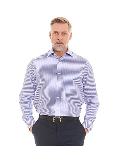 savile-row-mens-blue-white-textured-bold-bengal-stripe-classic-fit-shirt-double-cuff-15-1-2-standard
