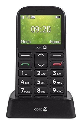 Doro 1360 2.4' 96g Negro Teléfono para Personas Mayores - Teléfono móvil...