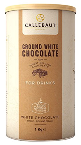 Callebaut - Ground White Chocolate Trinkschokolade Weiss - 1kg